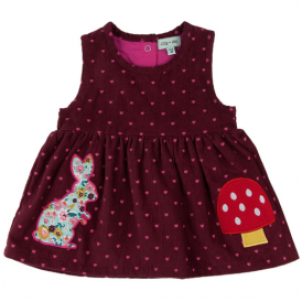 Lilly & Sid Baby Girl Dress Heart