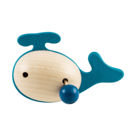 Little Big Things Teether Jono Blue