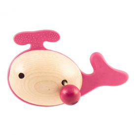 Little Big Things Teether Jono Pink
