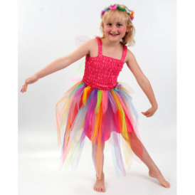 Lucy Locket Carnival Fairy Dress Hot Pink