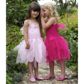 Lucy Locket Classic Fairy Dress Hot Pink