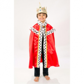 Lucy Locket Kings Cape One Size
