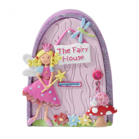 Lucy Locket Pink Toadstool Fairy Door