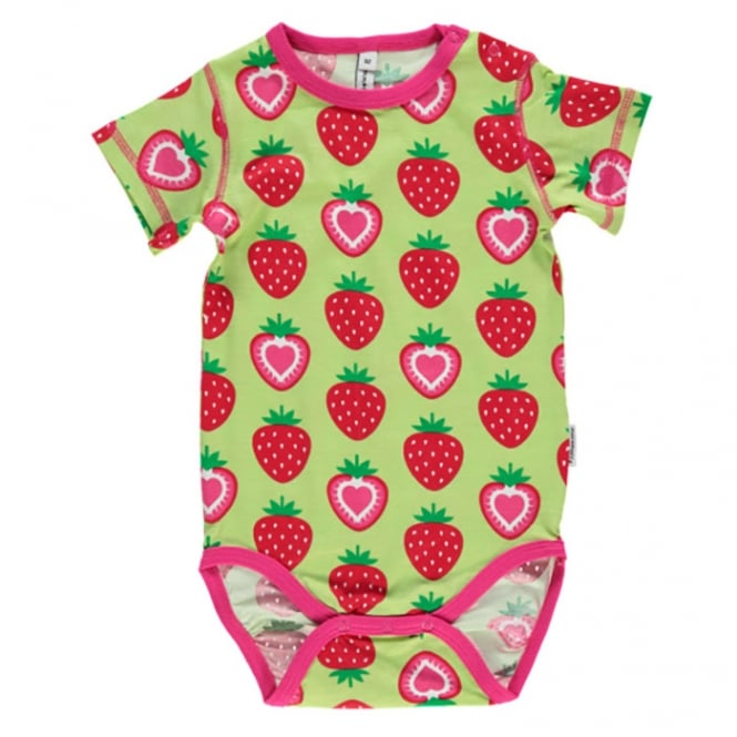 85b6db780 Maxomorra Baby Girl S S Body Strawberry - Baby Clothes from Soup ...