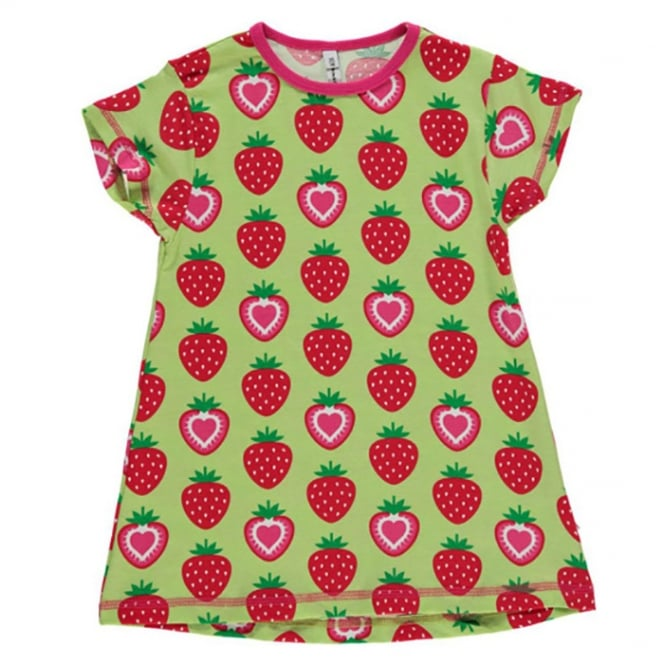 a80d3072d Maxomorra Baby Girl Tunic S S Strawberry - Baby Clothes from Soup ...