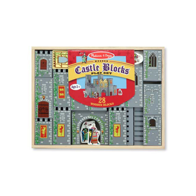 Melissa and Doug Melissa & Doug Wooden Castle Blocks