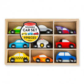 Melissa & Doug Car Set