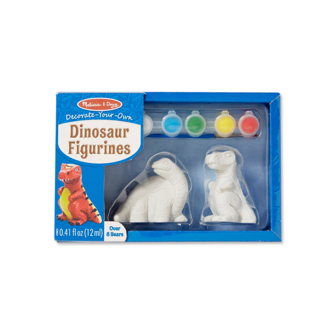Melissa and Doug Melissa & Doug Decorate Your Own Dinosaur Figurines