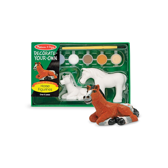 Melissa and Doug Melissa & Doug - Decorate Your Own Horse Figurines
