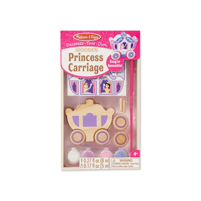 Melissa and Doug Melissa & Doug Decorate Your Own Princess Carriage