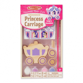 Melissa & Doug Decorate Your Own Princess Carriage