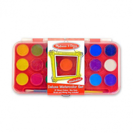 Melissa & Doug - Deluxe Watercolour Set (21 colours)