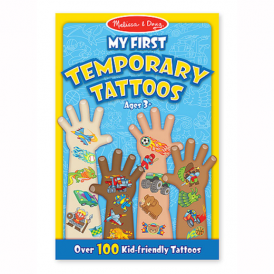 Melissa & Doug My First Temporary Tattoos Blue