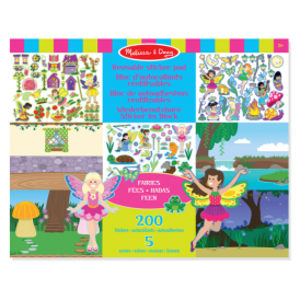Melissa & Doug Reusable Sticker Pad Fairies