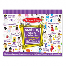 Melissa & Doug - Sticker Collection - Fashion