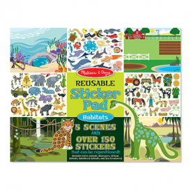 Melissa & Doug - Sticker Collection - Habitats