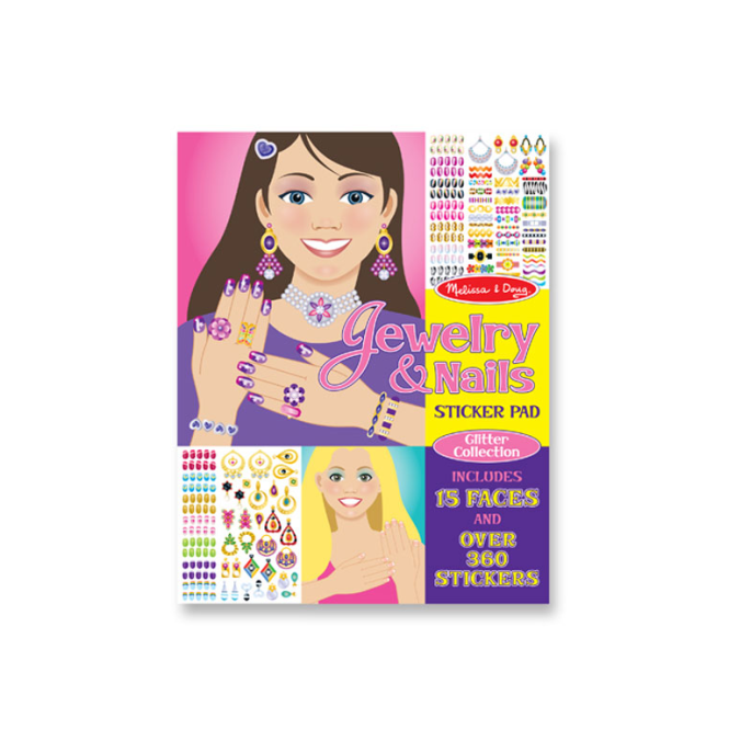 Melissa and Doug Melissa & Doug - Sticker Collection - Jewellery & Nails