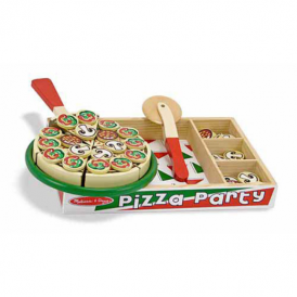 Melissa & Doug - Wooden Pizza