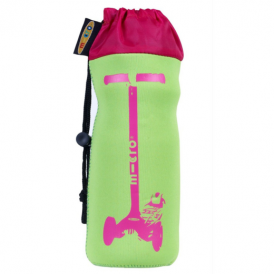 Micro Scooters Bottle Holder Neon Green & Pink