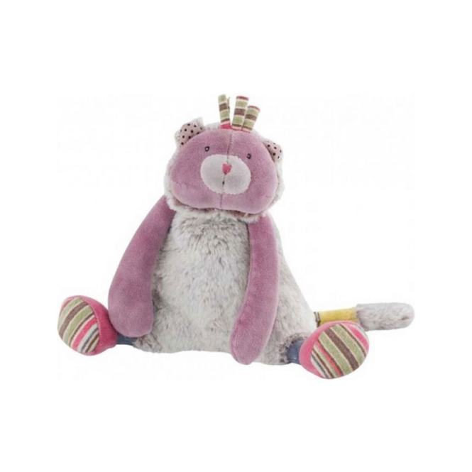 Moulin Roty Les Pachats Cat Doll Purple