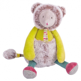 Moulin Roty Les Pachats Mouse Doll Green