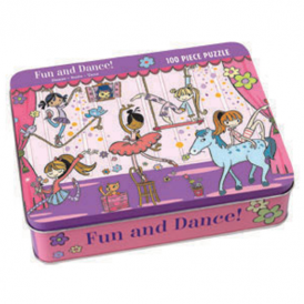 Mudpuppy - 100 Piece Puzzle Fun and Dance