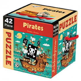 Mudpuppy - 42 Piece Puzzle Pirates