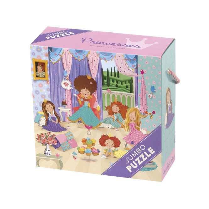 Mudpuppy Jumbo Puzzle Princess Castle