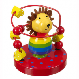 Orange Tree Bead Frame Lion