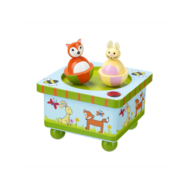 Orange Tree Music Box Woodland