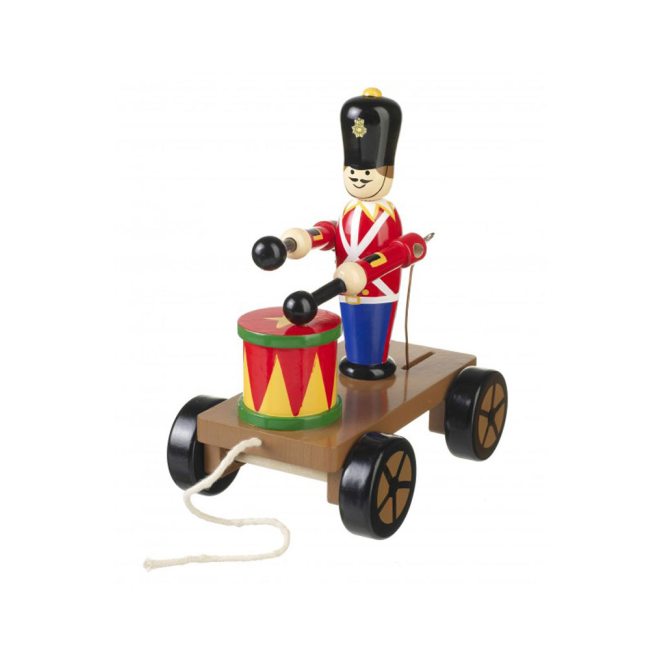 Orange Tree Victorian Drumming Soldier On Wheels