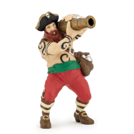 Papo Cannon Pirate Red