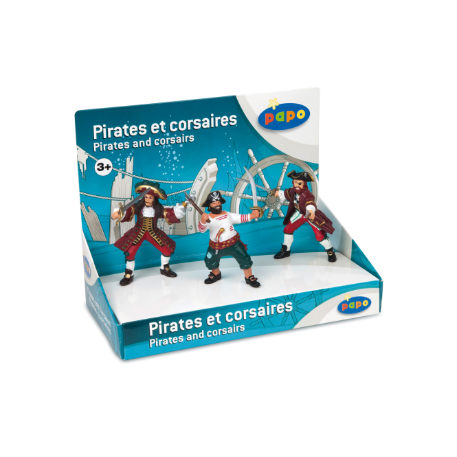 Papo Display Box Pirates and Corsairs
