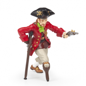 Papo Wooden Leg Pirate With Gun
