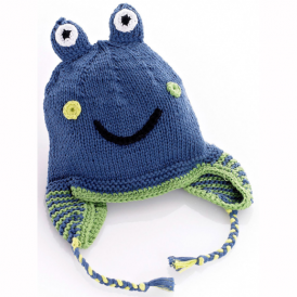 Pebble Frog Hat blue