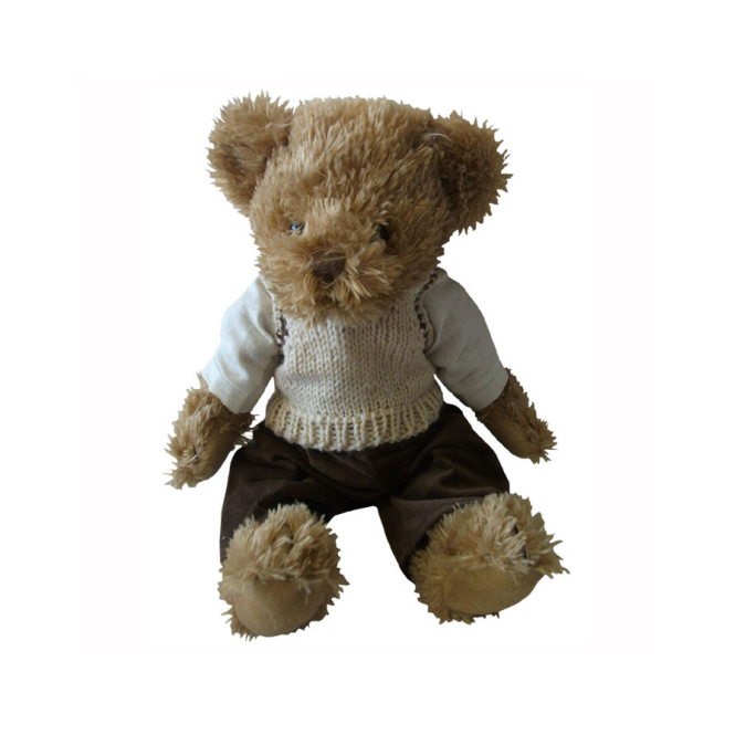 Powell Craft Teddy Bear In Tank Top Toddler Toys From Soup Dragon Uk