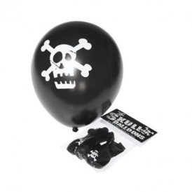 Rex - Balloons Pack of 3 Skull Black