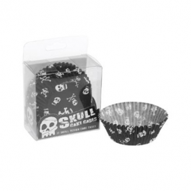 Rex - Cake Cases Pack of 72 Skull