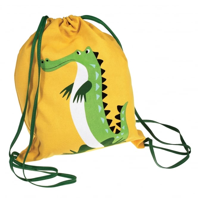 Rex International Rex Drawstring Bag Crocodile