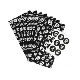Rex - Party Bag & Sticker Set Skulls