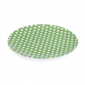 Rex - Plate Spotty Green
