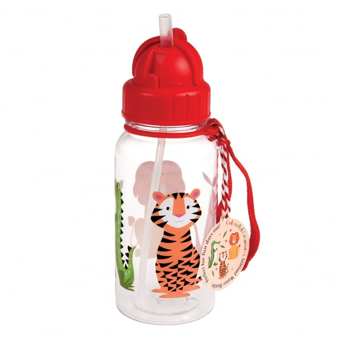 Rex International Rex Water Bottle Colourful Creatures