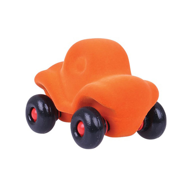 Rubbabu Little Car Runaround Orange