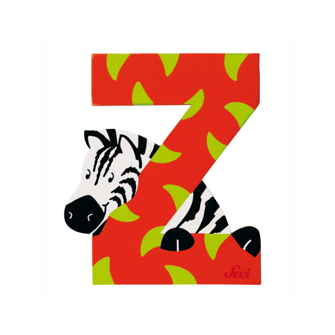 Sevi - Jungle Letter Z