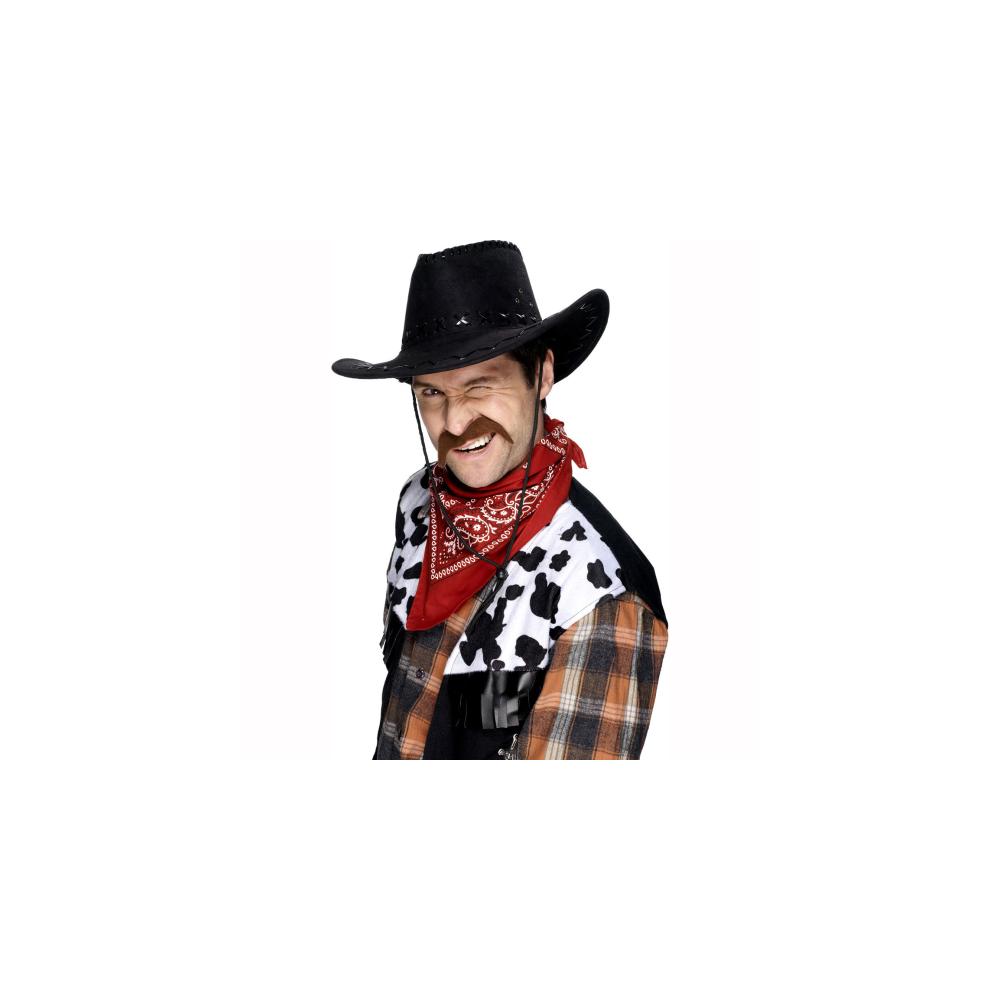 sc 1 st  Soup Dragon & Smiffys Cowboy Moustache Brown - Dress Up from Soup Dragon UK