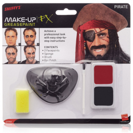 Smiffys Face Paint Kit Pirate