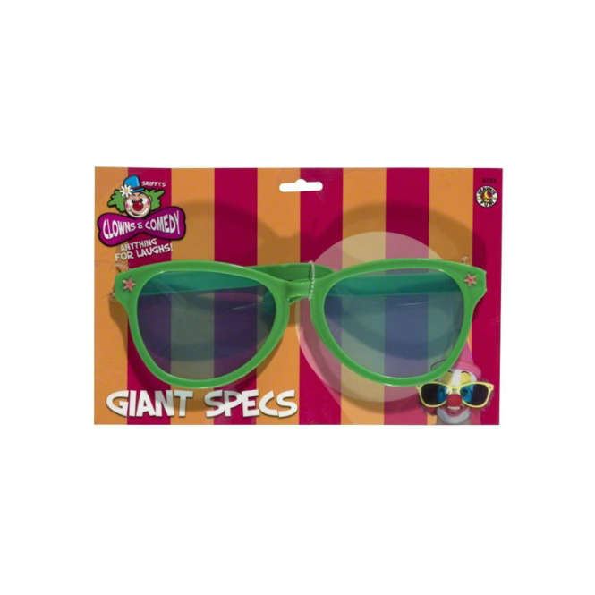 Smiffys Giant Clown Glasses