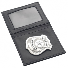 Smiffys Police Badge In Wallet