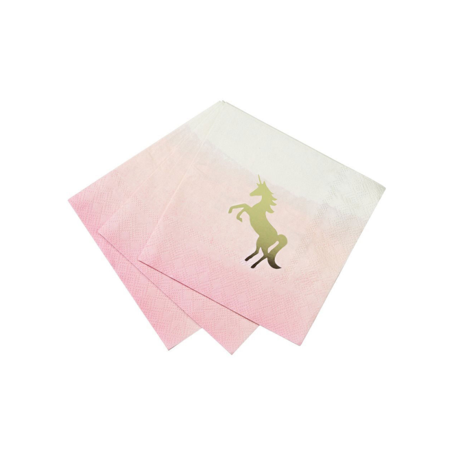 Talking Tables Unicorn Napkins