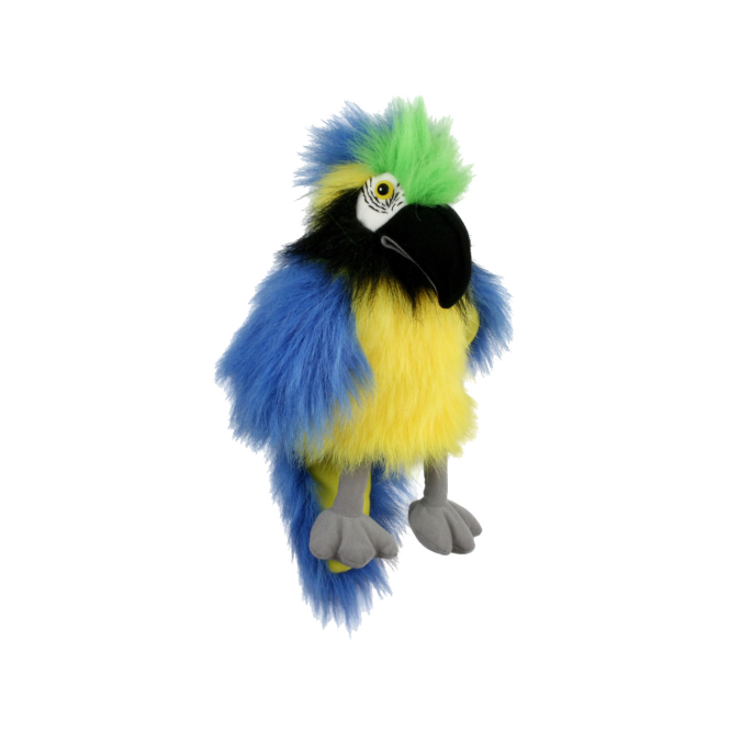 The Puppet Co. The Puppet Company Baby Blue & Gold Macaw